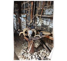 Quiet in the Shearing Shed  Poster