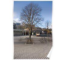 Scottish Parliament Tree Poster