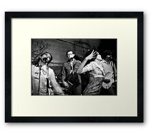 Roofies at Mission Creek Framed Print