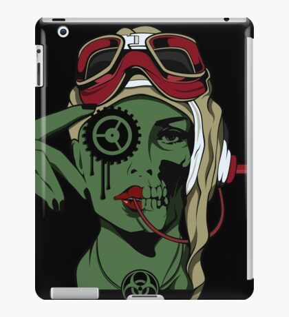 Mechanical Girl 1 iPad Case/Skin