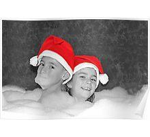Bubble Bath Fun Poster