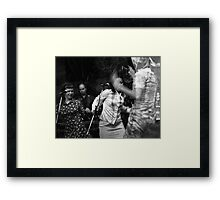 The Roofies Rock Framed Print