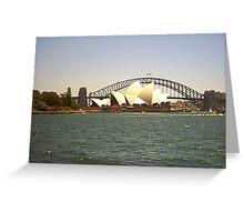 Opera House & Sydney Harbour Bridge Greeting Card