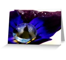 Underwater Universe Unfolding Greeting Card