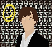 BBC Sherlock Holmes (Without writing) by LiliPrints