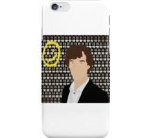 BBC Sherlock Holmes (Without writing) iPhone Case/Skin