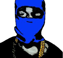 Blue Yeezy by FHoliday