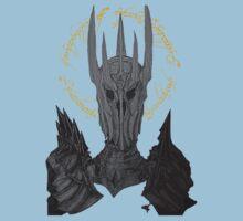 Sauron Black Speech Kids Tee
