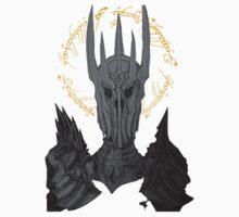 Sauron Black Speech Kids Clothes