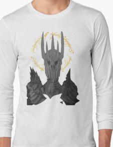 Sauron Black Speech Long Sleeve T-Shirt