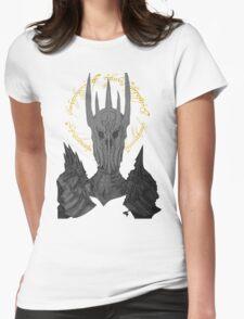 Sauron Black Speech Womens Fitted T-Shirt
