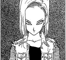 Android 18 by Max Pocket