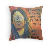 shannon hoon Throw Pillow