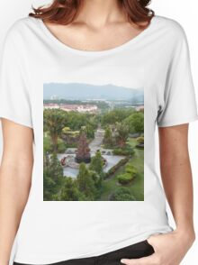 a large Malaysia landscape Women's Relaxed Fit T-Shirt