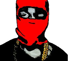 Red Yeezy by FHoliday