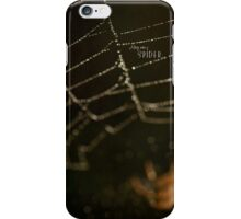 Along Came a Spider iPhone Case/Skin