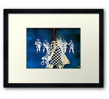 Girls Who Don't Like Authority IV Framed Print