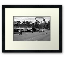 Charity Ride Framed Print