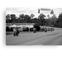 Charity Ride Canvas Print