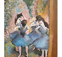 re: after degas Photographic Print