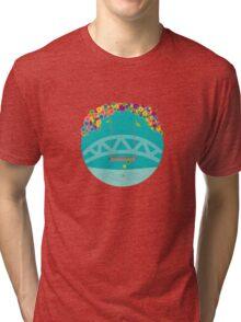 falling & floating Tri-blend T-Shirt