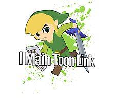 I Main Toon Link - Super Smash Bros. Photographic Print