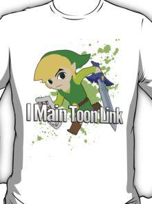 I Main Toon Link - Super Smash Bros. T-Shirt