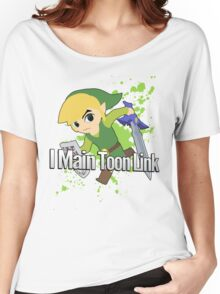 I Main Toon Link - Super Smash Bros. Women's Relaxed Fit T-Shirt