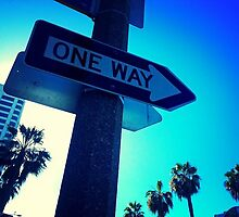 One Way by LiliPrints