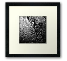 Toil & Trouble - Black & White Framed Print