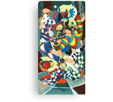 Harlequins Acting Weird - Why?... Canvas Print