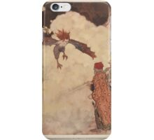 Shakespeare's Comedy of The Tempest - Art by Edmund Dulac - 1915 - 0105 - Ariel - You are three men of sin iPhone Case/Skin