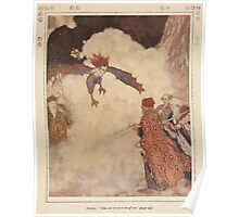 Shakespeare's Comedy of The Tempest - Art by Edmund Dulac - 1915 - 0105 - Ariel - You are three men of sin Poster