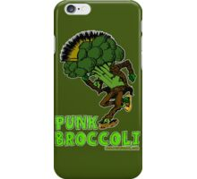 Punk Broccoli iPhone Case/Skin