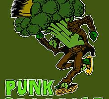 Punk Broccoli by darklordpug