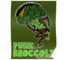 Punk Broccoli Poster