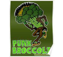 Punk Broccoli Poster