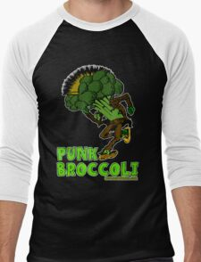 Punk Broccoli Men's Baseball ¾ T-Shirt