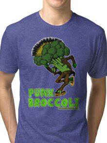 Punk Broccoli Tri-blend T-Shirt