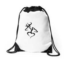 Browning Heart Drawstring Bag