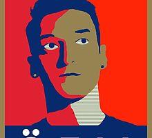 Mesut Ozil (Arsenal Palette) by ecimino