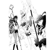 The Outer Senshi Photographic Print