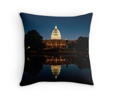 Capitol Sunrise Throw Pillow