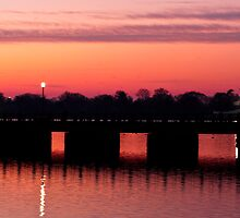 Jefferson Memorial Sunrise by Eric G Brown