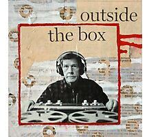 Outside The Box Photographic Print