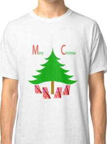 Christmas Tree with Gifts and Snow Classic T-Shirt