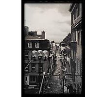 Quebec City circa 1980 Photographic Print