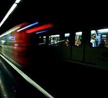 Barcelona Metro by MissBritt