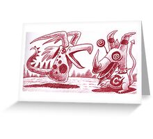 The Little Devils Greeting Card