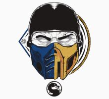 Scorpion and Subzero Baby Tee